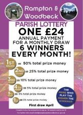 Join the Rampton and Woodbeck Parish Lottery