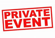 Private Party 6.15pm to 10.15 pm
